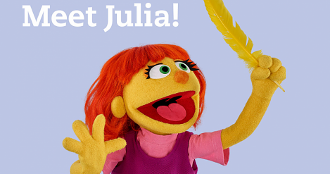 Sesame Street Introduces Muppet On Autism Spectrum
