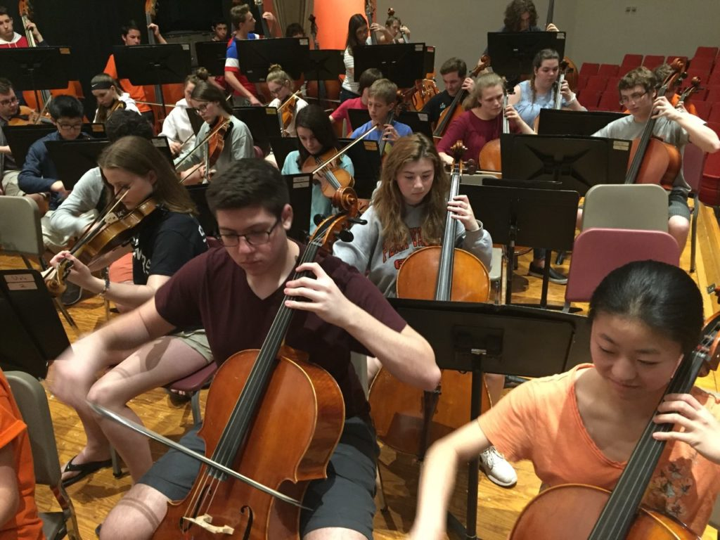 Strings Perform Annual Spring Concert