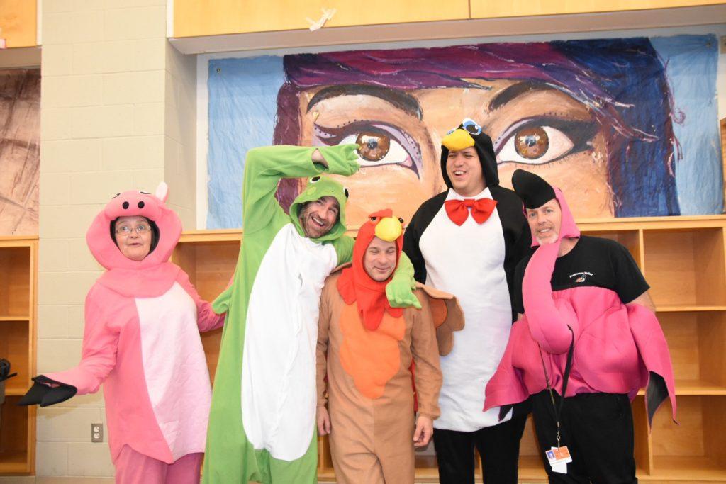 Alert the Zoo: Animals Roam the Halls of Perkiomen Valley High School