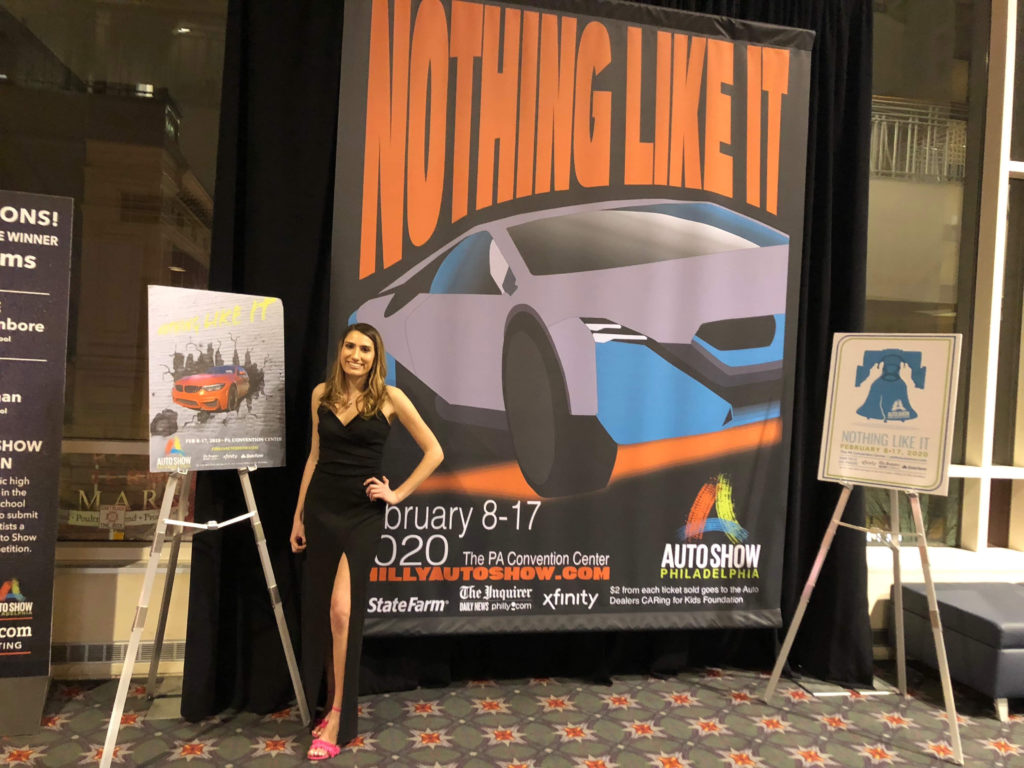 Students Win 2020 Auto Show Competition