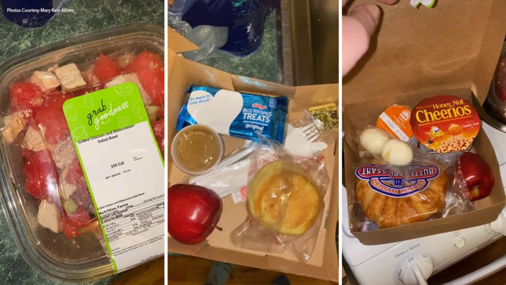 Colleges Serve Up Meals To Students Stuck in Quarantine