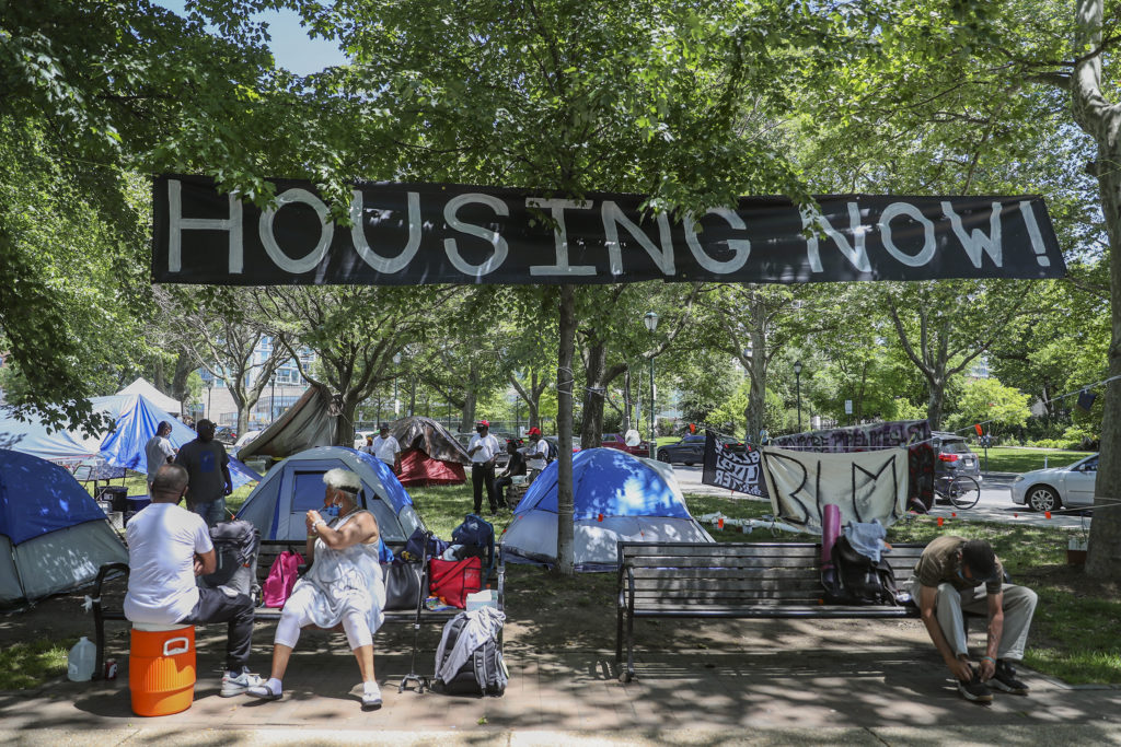 COVID-19 Exposes Homeless Crisis in Philly