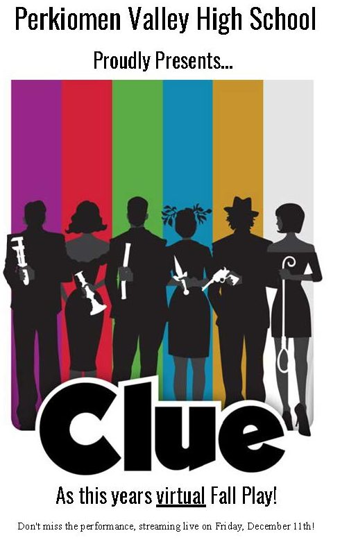"Behind the Curtain: Fall Play ""Clue"" Performed Virtually"