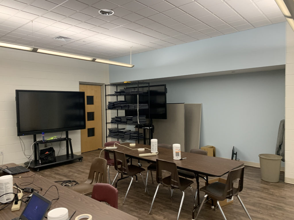 Genius bar helpdesk moves out of the library